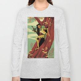 Queen of Swords Long Sleeve T-shirt