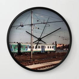 Padova Train Ride Wall Clock