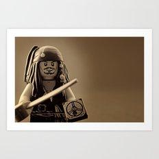 I am Captain Jack Sparrow Art Print