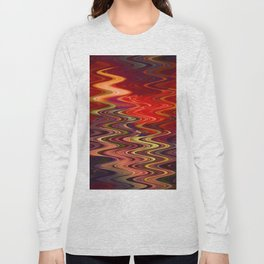Abstract 'S' Long Sleeve T-shirt