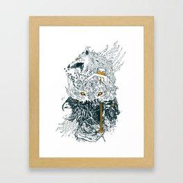 Eyes of the Copse Framed Art Print