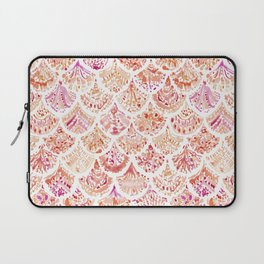 UNDERTOW Coral Mermaid Scales Laptop Sleeve