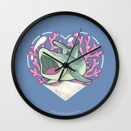 GULP, the Basking Shark Wall Clock