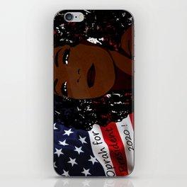 Oprah for president 2020 iPhone Skin