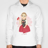 switzerland Hoodies featuring Switzerland by Melissa Ballesteros Parada