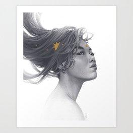 Xing Art Print