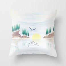 Myth One Throw Pillow