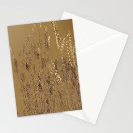 Thin Branches Sepia Stationery Cards