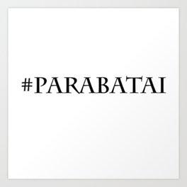 #Parabatai Art Print
