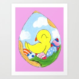Egg Batch Art Print
