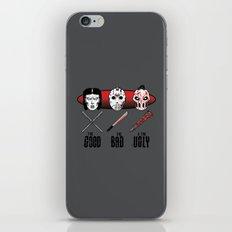 Hockey Mask Evolution iPhone & iPod Skin