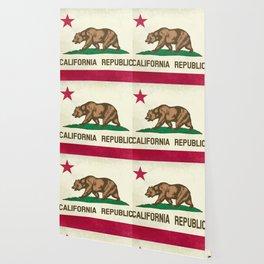 California Republic Flag Wallpaper