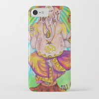 ganesha iPhone & iPod Cases featuring Ganesha by Lioz