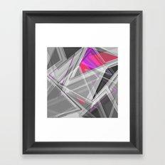 ∆Pink Framed Art Print