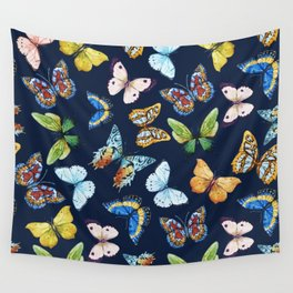 Butterfly Pattern 03 Wall Tapestry