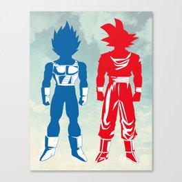 Warriors Canvas Print