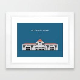 Parliament House, Singapore [Building Singapore] Framed Art Print