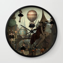 Love Is In The Air-Flappers Invasion Wall Clock