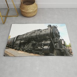 Steam Locomotive Number 5021 Sacramento Rug