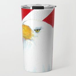 Eagle And Flag Travel Mug