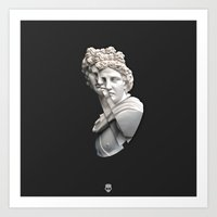 apollo Art Prints featuring Apollo by Taz Hove