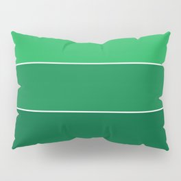 gradation in True Green Pillow Sham