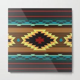 American Native Pattern No. 167 Metal Print