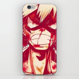 Bakugou iPhone Skin