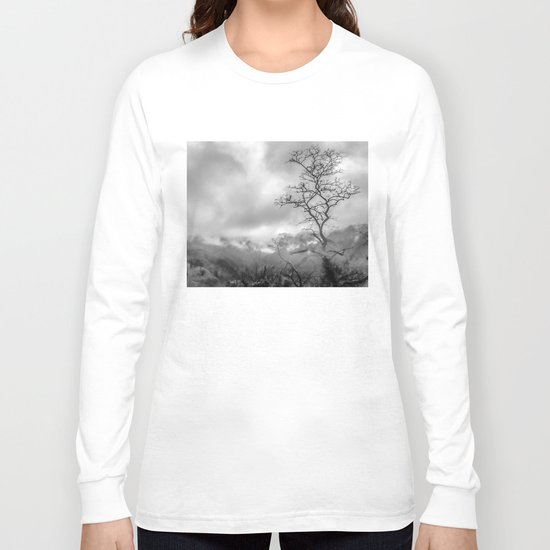 Mist in mountains Long Sleeve T-shirt