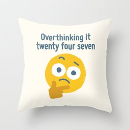 Leave Dwell Enough Alone Throw Pillow