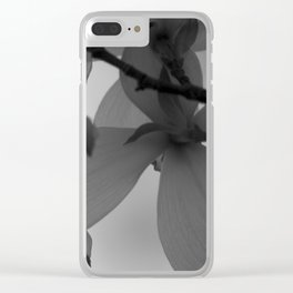 Majestic Heights Clear iPhone Case