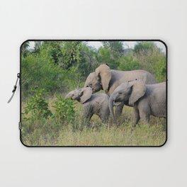 Elephant Family Laptop Sleeve