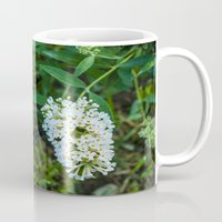 rileigh smirl Mugs featuring Daisies by Rileigh Smirl