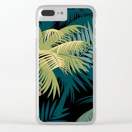 TROPICAL PARADISE 3 Clear iPhone Case