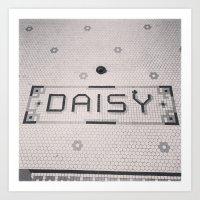 Daisy Theater  Art Print