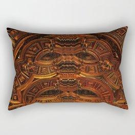 Copper Totem Rectangular Pillow