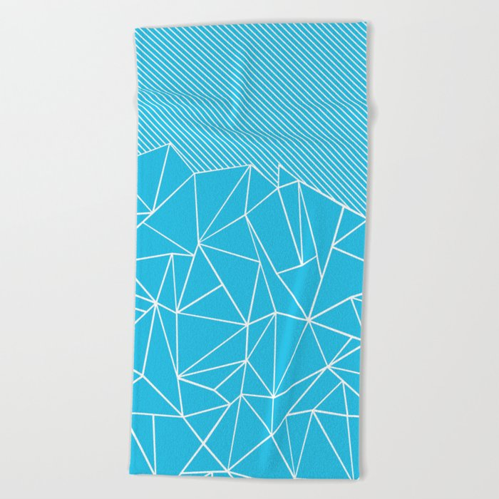 Ab Lines 45 Electric Beach Towel