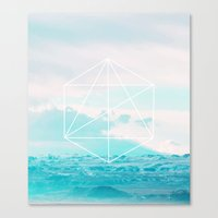 anchor Canvas Prints featuring Anchor by 83 Oranges™