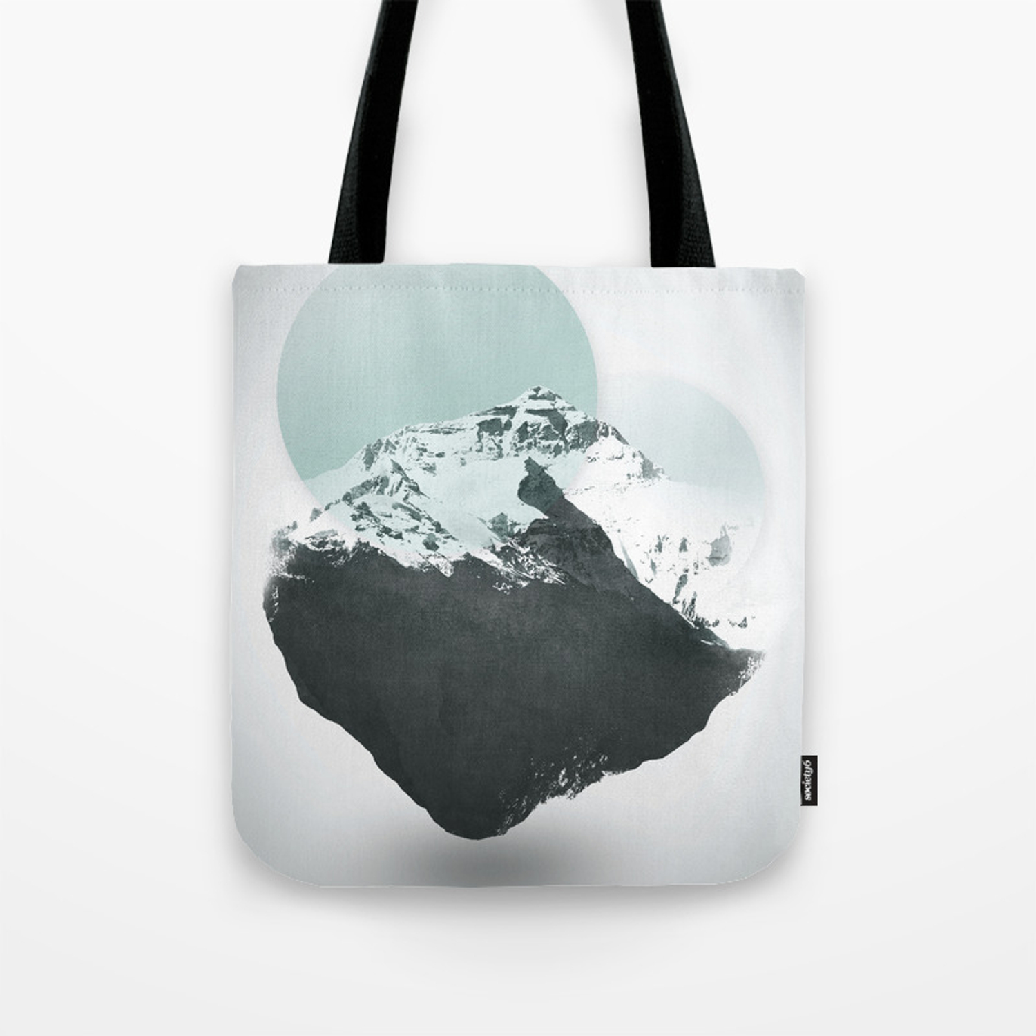 225ad2f505 Mt. Everest - The Surreal North Face Tote Bag by dpillustrations | Society6