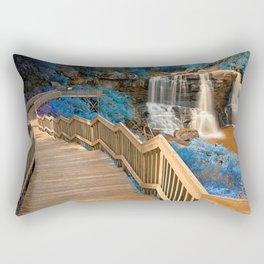 Blackwater Falls State Park Davis West Virginia United States Ultra HD Rectangular Pillow