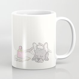 Hello, Gorgeous : Sweet Dreaming Frenchie French Bulldog Coffee Mug