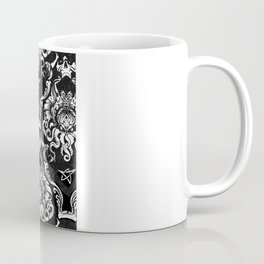 Cthulhu Damask Coffee Mug