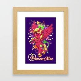 Mac Prism Magic Framed Art Print
