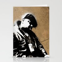biggie smalls Stationery Cards featuring The Notorious B.I.G. - Biggie Smalls by Chad Trutt