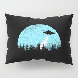 Cyan UFO Pillow Sham
