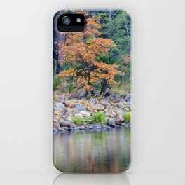 Along The Riverbank iPhone Case