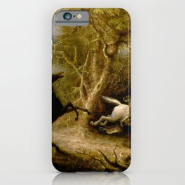 John Quidor Legend of Sleepy Hollow Headless Horseman Pursuing Ichabod Crane 1858 iPhone Case