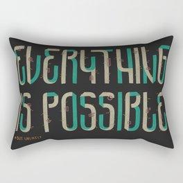 Unlikely Rectangular Pillow