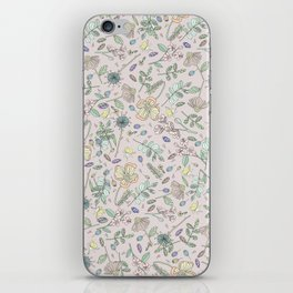 Country Flowers - Peach Blossom iPhone Skin