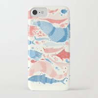 under the sea iPhone & iPod Cases featuring Under the sea by Matt Saunders